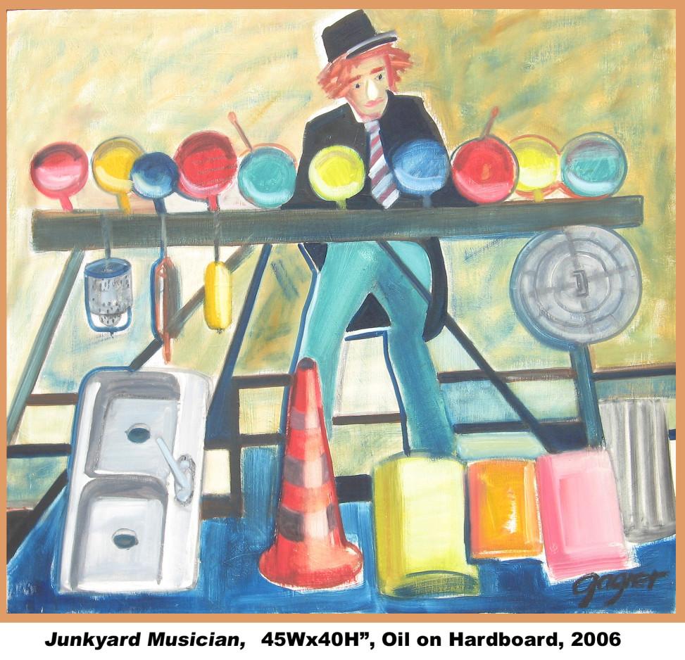 Junkyard Musician